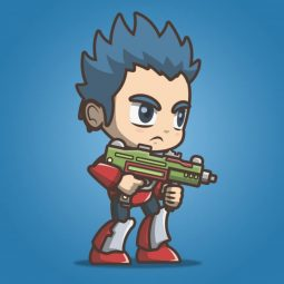 Joe From The Metro Squad - 2D Character Sprite