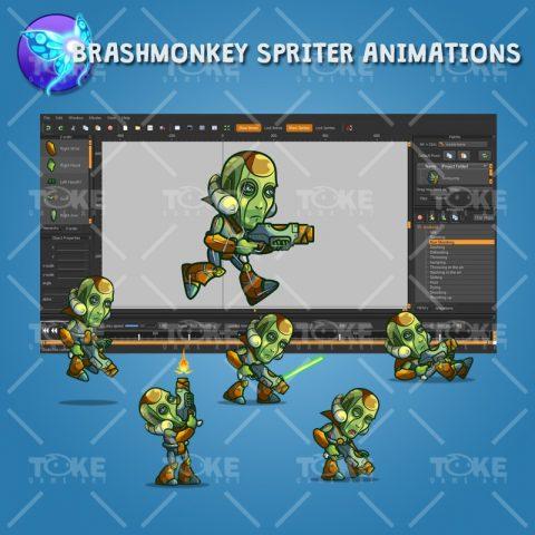 Android Boss - Brashmonkey Spriter Animation