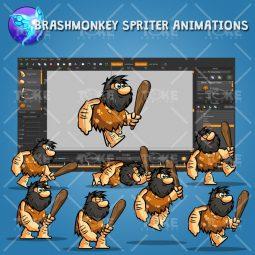 Bob The Caveman - Brashmonkey Spriter Animation