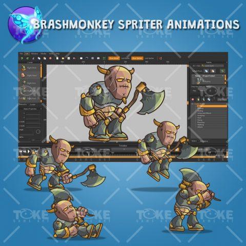 Castle Guard - Brashmonkey Spriter Animation