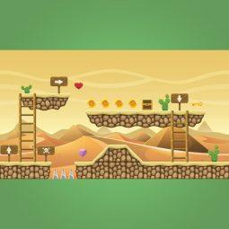 Egyptian TilesetEgyptian Tileset - 2D Game Platformer