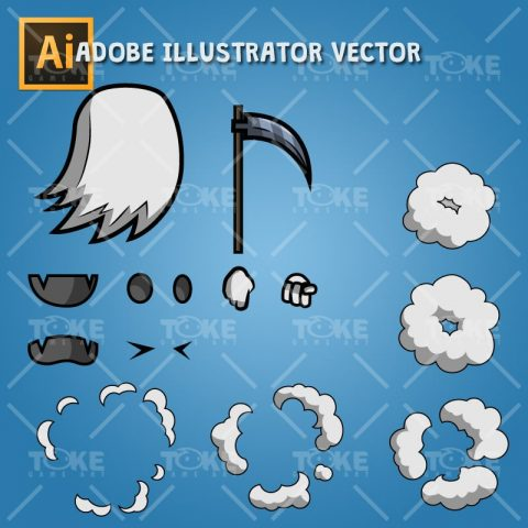 Ghost – Adobe Illustrator Vector Art Based