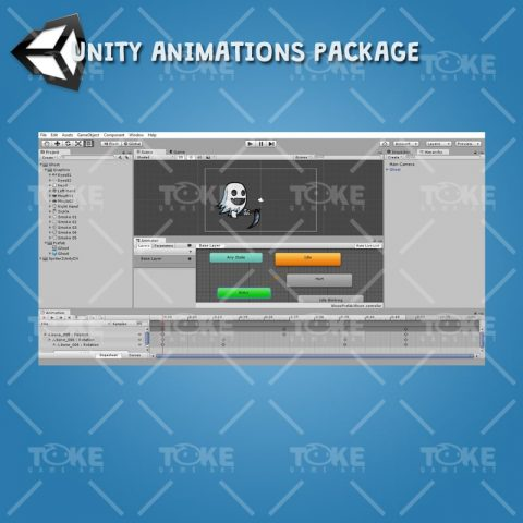 Ghost - Unity Animation Ready
