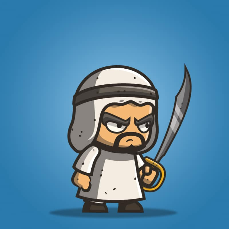 Micro Style Character – Arabian Executioner
