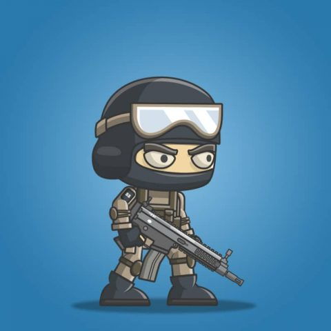 Mike The Counter Terrorist