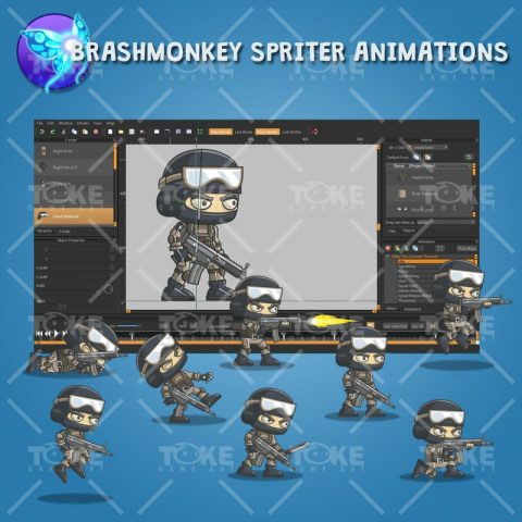 Mike - Brashmonkey Spriter Animation