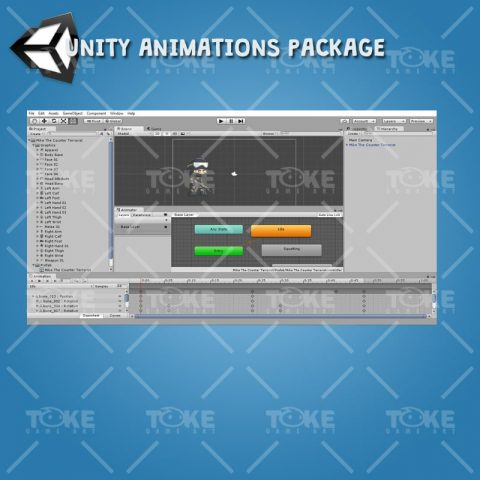 Mike - Unity Animation Ready