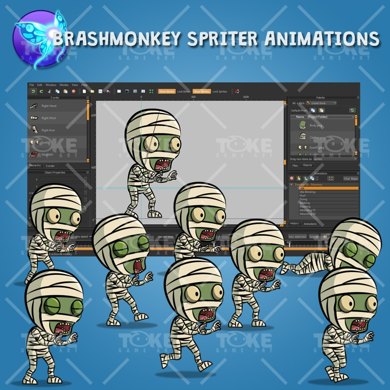 Mummy - Brashmonkey Spriter Animation
