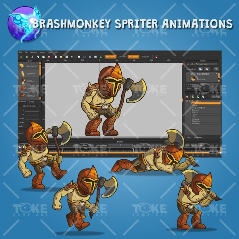 The Executioner - Brashmonkey Spriter Animation