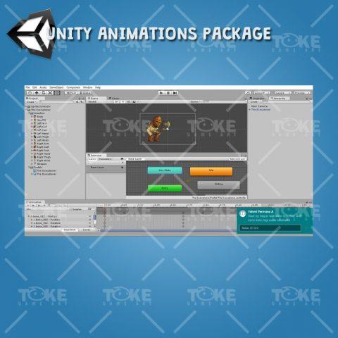 The Executioner - Unity Animation Ready