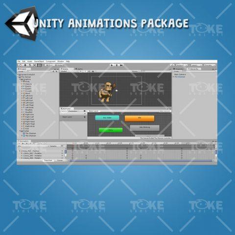 The Shaman - Unity Animation ready
