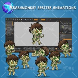 Tiny Mummy - Brashmonkey Spriter Animation