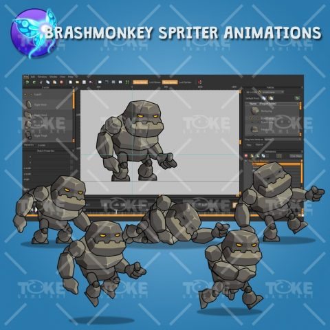 Tiny Rock Monster - Brashmonkey Spriter Animation