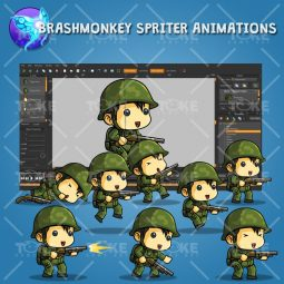 Tiny Chinese Soldier – Brashmonkey Spriter Animation