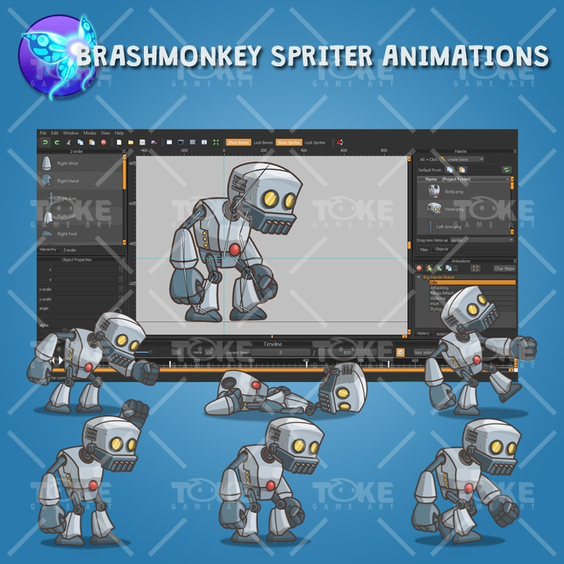 Big Hands Robot - Brashmonkey Animation