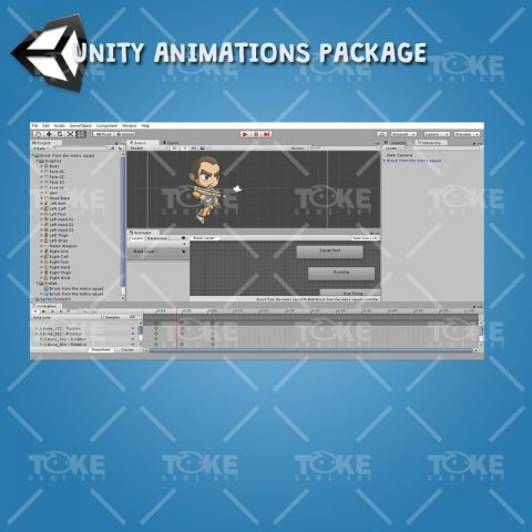 Brock From The Metro Squad - Unity animation