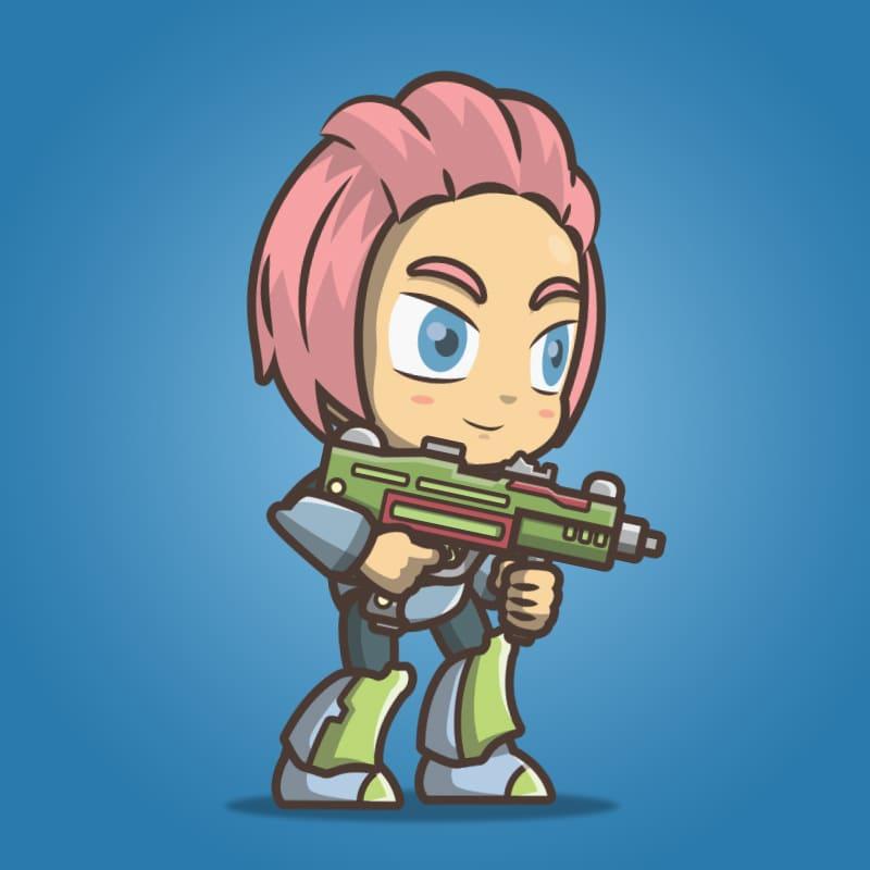 Joana From The Metro Squad