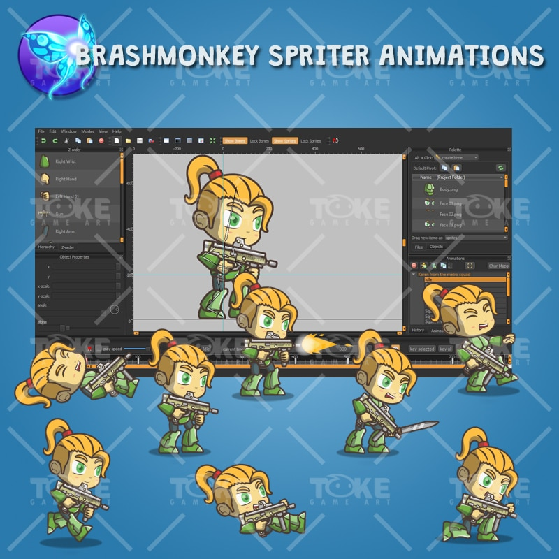 Karen From The Metro Squad - Brashmonkey Animation