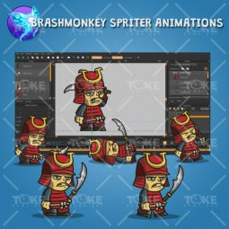 Tiny Armored Samurai - Brashmonkey Spriter Animation
