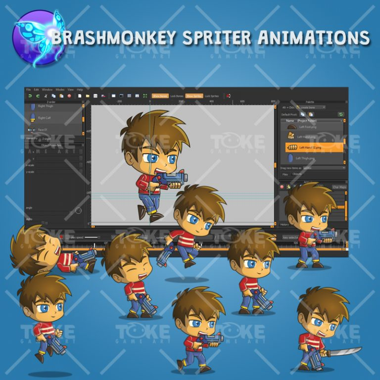Good Boy - Brashmonkey Spriter Animation