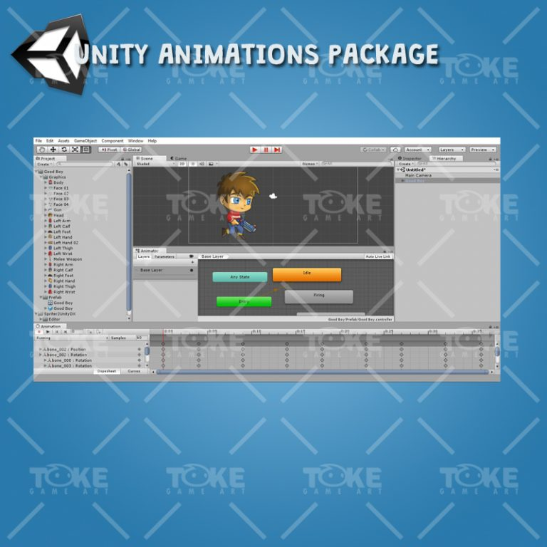 Good Boy - Unity Animation Ready