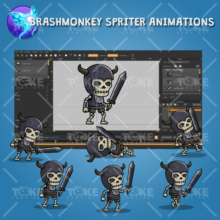 Skull Knight - Brashmonkey Spriter Animation