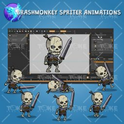 Skull Warrior - Brashmonkey Spriter Animation