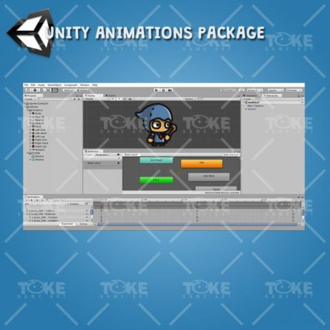Tiny Style Character - Witcher - Unity Animation Ready