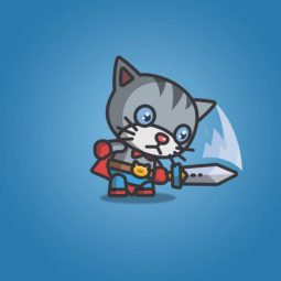 Super Cat - 2D Character Sprite