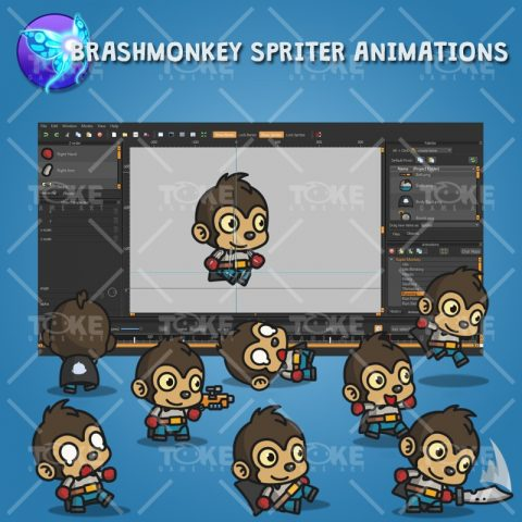 Super Monkey - Brashmonkey Spriter Animation