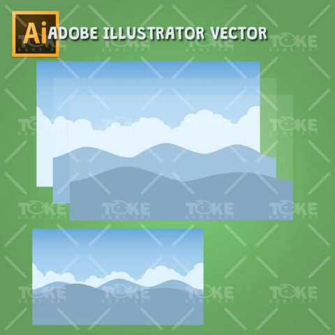 Tropic Island Tileset - Parallax Game Background