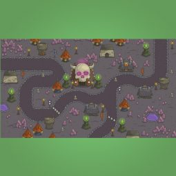 Dungeon Top-Down Game Platformer