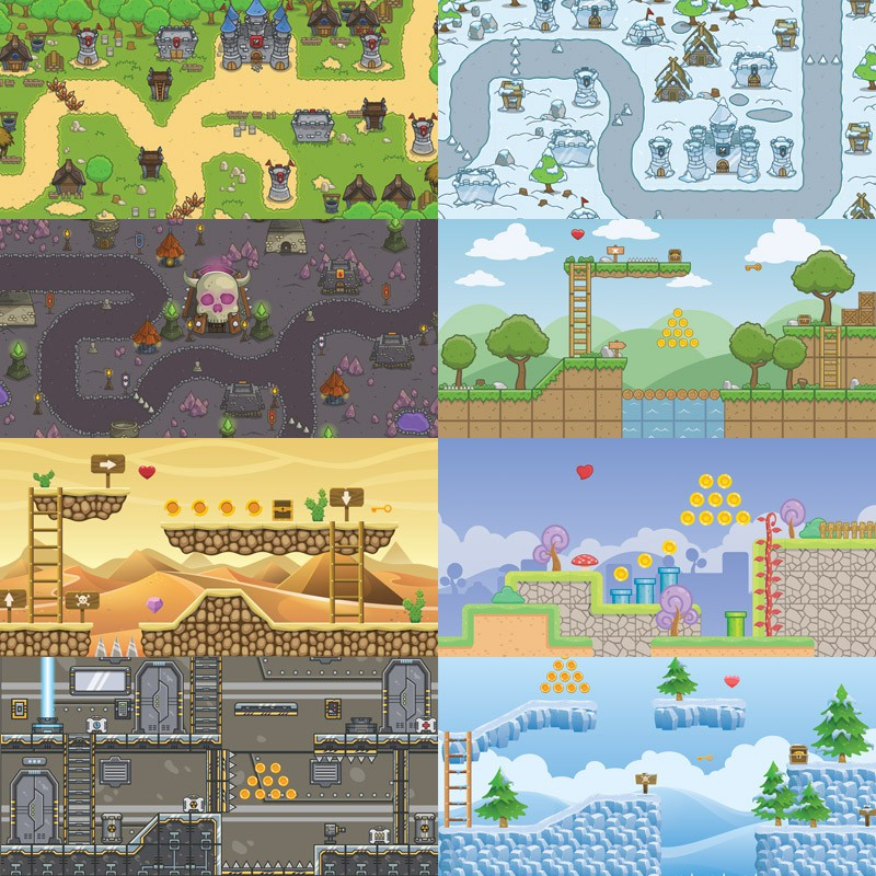 Game Tileset Bundles