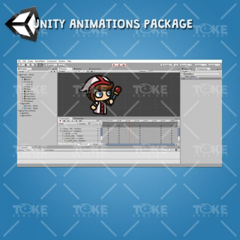 Priest - Tiny Style Character - Unity Animation Ready