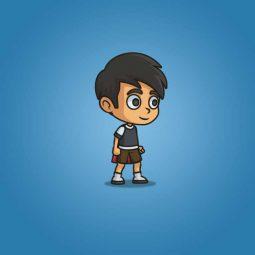 Super Boy - 2D Character Sprite