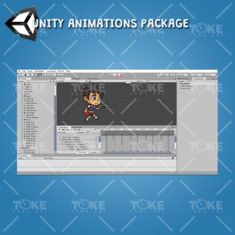 Super Boy - Unity Animation Ready