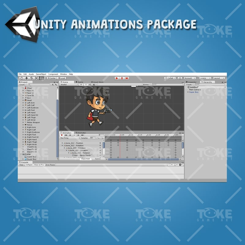 Super Boy - Unity Animation Ready