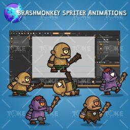 Cyclop Tiny Style Character - Brashmonkey Spriter Animation