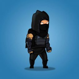 Dark Thief - 2D Platformer Character Sprite