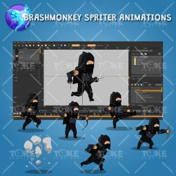 Dark Thief - Brashmonkey Spriter Animation