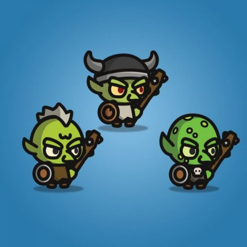 Goblin Tiny Style Character - 2D Character Sprite