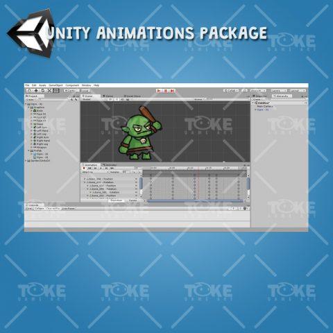 Ogre Tiny Style Character - Unity Animation Ready