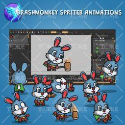 Super Bunny - Brashmonkey Spriter Animation