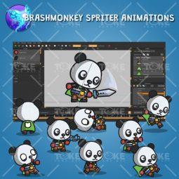 Super Panda - Brashmonkey Spriter Animation