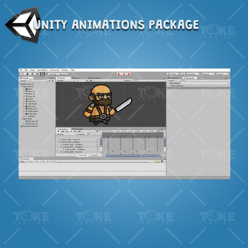 Big Guy - Unity Animation Ready