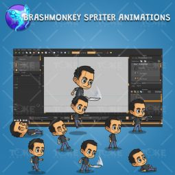 Hero Guy - Brashmonkey Spriter Animation