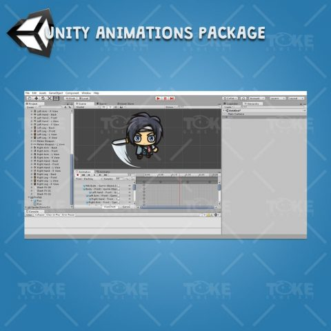 Ryu - Unity Animation Ready