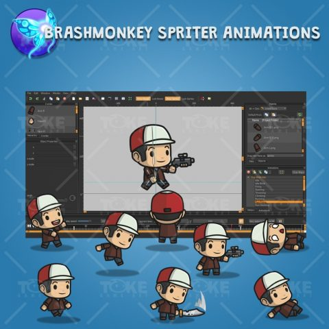 Boy with Hat - Brashmonkey Spriter Animation