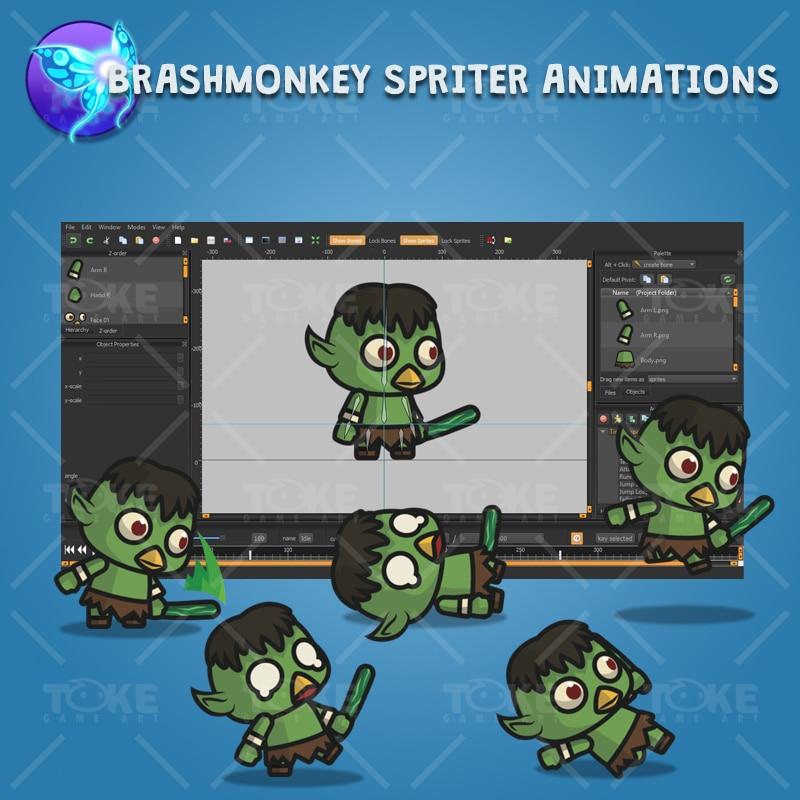 Tiny Kappa - Brashmonkey Spriter Animation