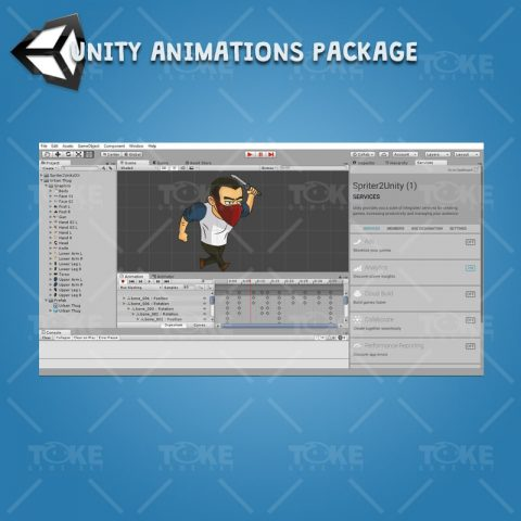 Urban Thug - Unity Animation Ready